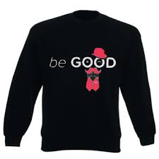 Sweatshirt Be good black