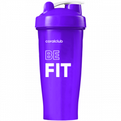 Shaker Coral Club Be fit 600 ml viola