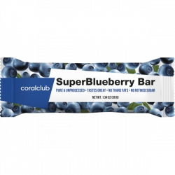 SuperBlueberry Bar