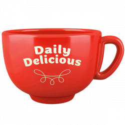 Tazza Daily Delicious rossa