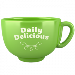 Tazza Daily Delicious verde  (Europa)