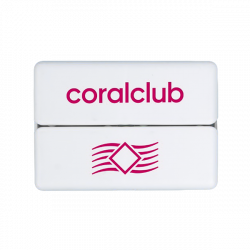 GoBox mini con logo  Coral Club rosso