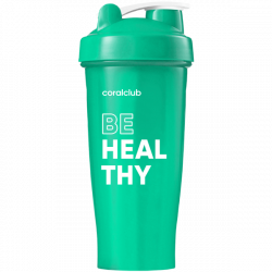 Shaker Coral Club Be healthy 600 ml turchese